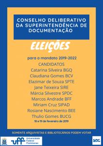 Candidatos CDL 2019